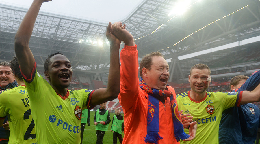 Rostov falls short as CSKA wins Russian Premier League