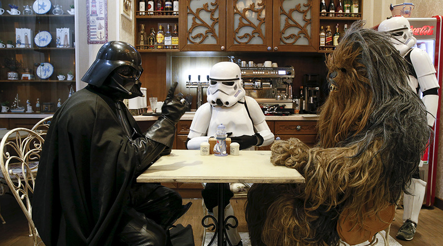 Star Wars fans geek out over Wookie mask, stormtrooper arrest, & Millennium Falcon sightings