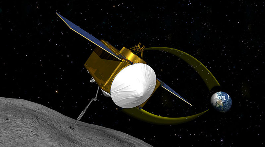 OSIRIS-REx asteroid-bound spacecraft arrives at NASA's Kennedy Space Center