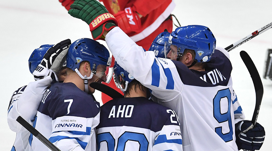 Finland eliminates Russia in Hockey World Championships semifinals