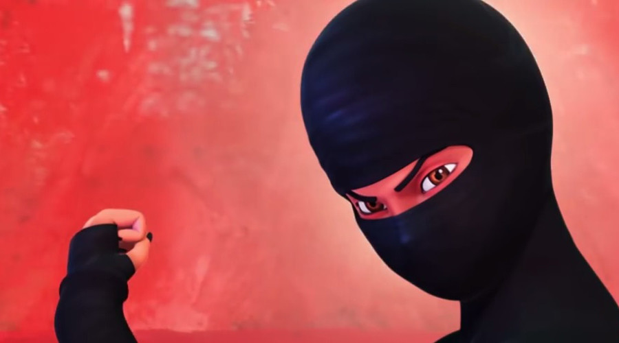 Pakistan's award-winning 'Burka Avenger' animation opens on London screen