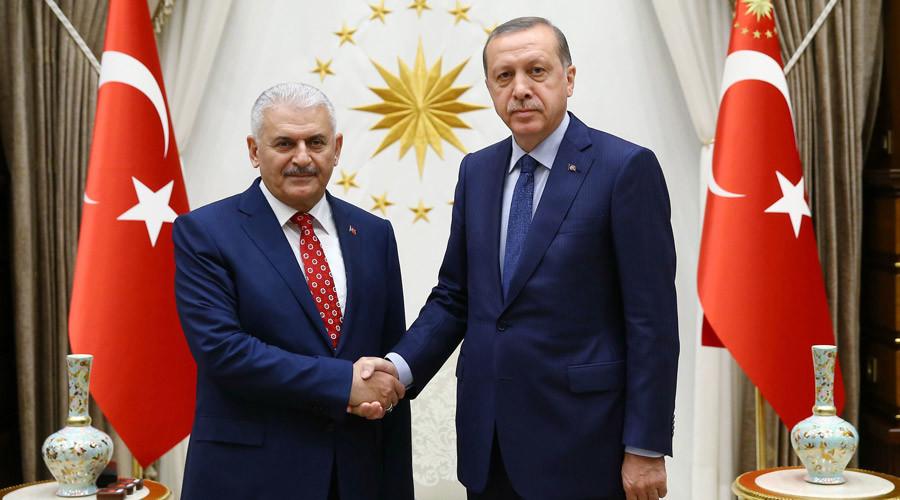 Turkish President Recep Tayyip Erdogan, Binali Yildirim ©