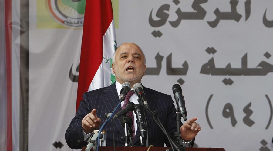 Iraqi Prime Minister Haider al-Abadi © Khalid al Mousily