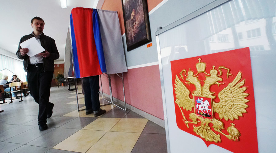 Ruling party United Russia holds 1st-ever nationwide primaries