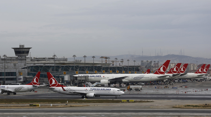 Bomb threat note found aboard Turkish Airlines plane at Istanbul airport