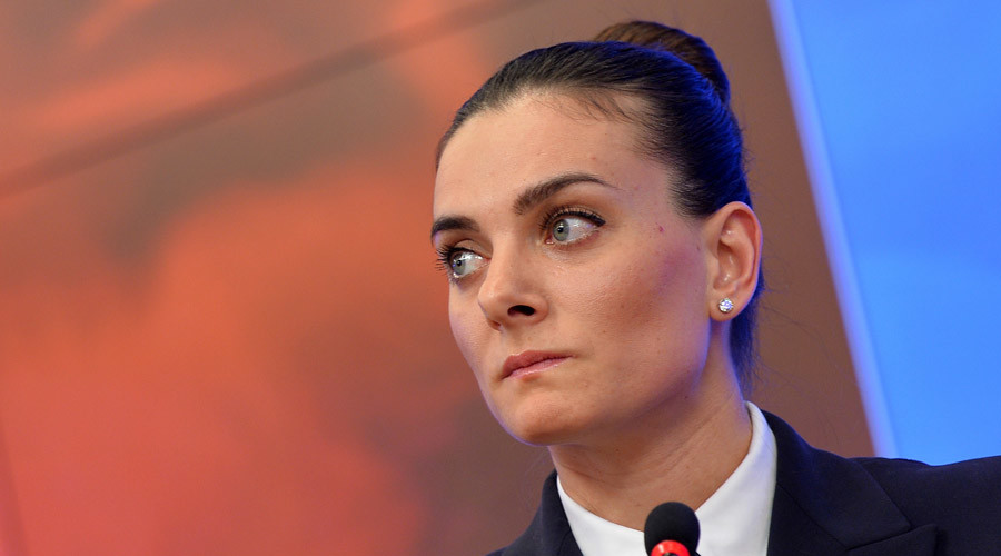 'Discrimination against Russia': Isinbayeva to fight for right to compete at Rio 2016 Olympics