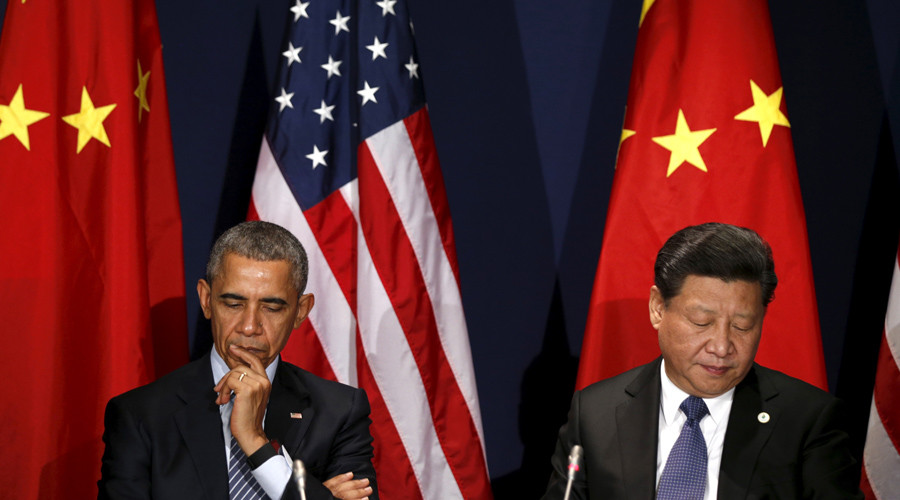 U.S. President Barack Obama meets with Chinese President Xi Jinping © Kevin Lamarque