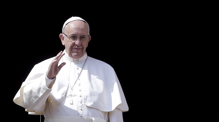 Pope Francis prays for Syria terror victims, asks God to 'convert hearts' of ISIS jihadists