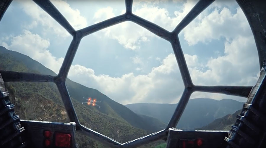 This Star Wars drone dogfight is as awesome as it sounds (VIDEO)