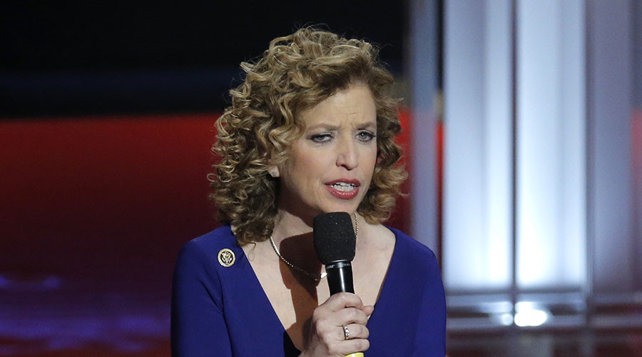 'I'm focused on doing my job': DNC Chair Wasserman Schultz answers #DumpDebbie effort (VIDEO)