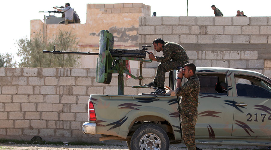 'In the name of humanity': Intl anti-terror force advances on ISIS capital Raqqa