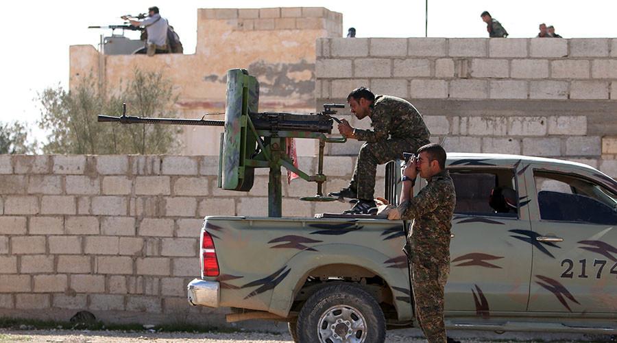 Syria Democratic Forces fighters. ©Rodi Said