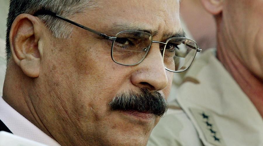 Former Iraqi Interim Minister of Defence Hazem al Sha'alan © Bob Strong