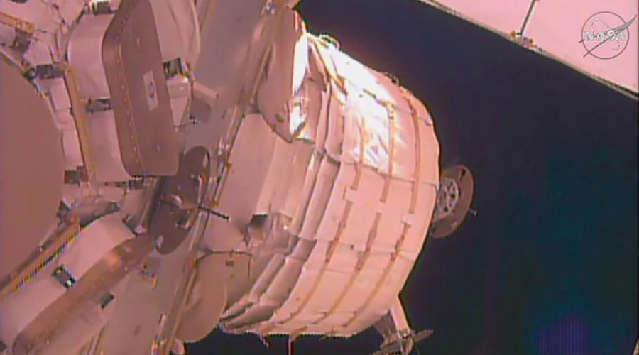 Failure to BEAM: Expansion pod doesn't inflate during ISS test