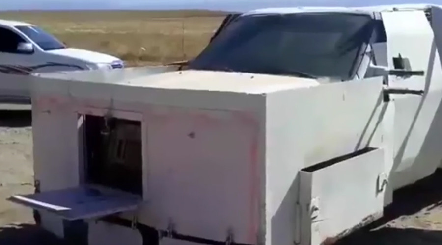 ISIS 'Mad Max' suicide truck seized before detonation (VIDEO)