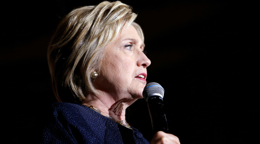Clinton ignores question of how much money Goldman Sachs CEO gave her son-in-law's hedge fund