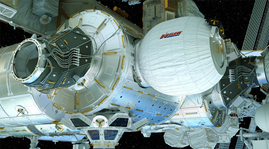 NASA inflates new ISS module (VIDEO)