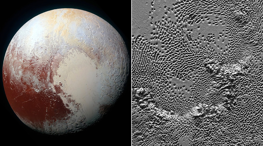 NASA releases spellbinding details of Pluto's surface (PHOTO, VIDEO)
