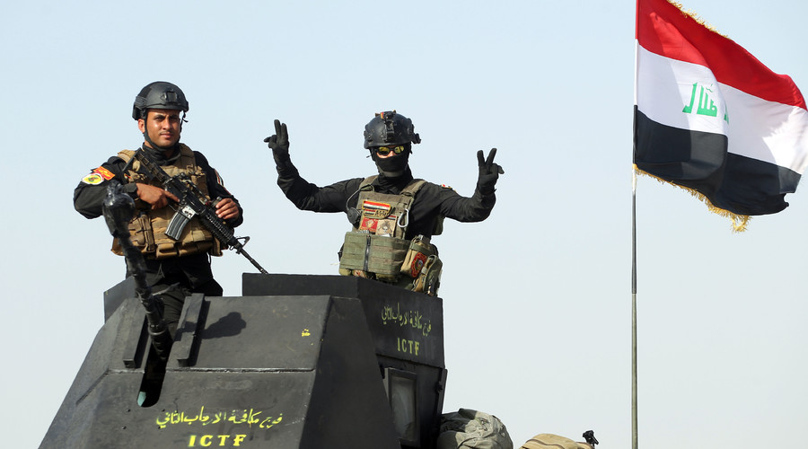 Iraqi forces fight their way into ISIS stronghold Fallujah
