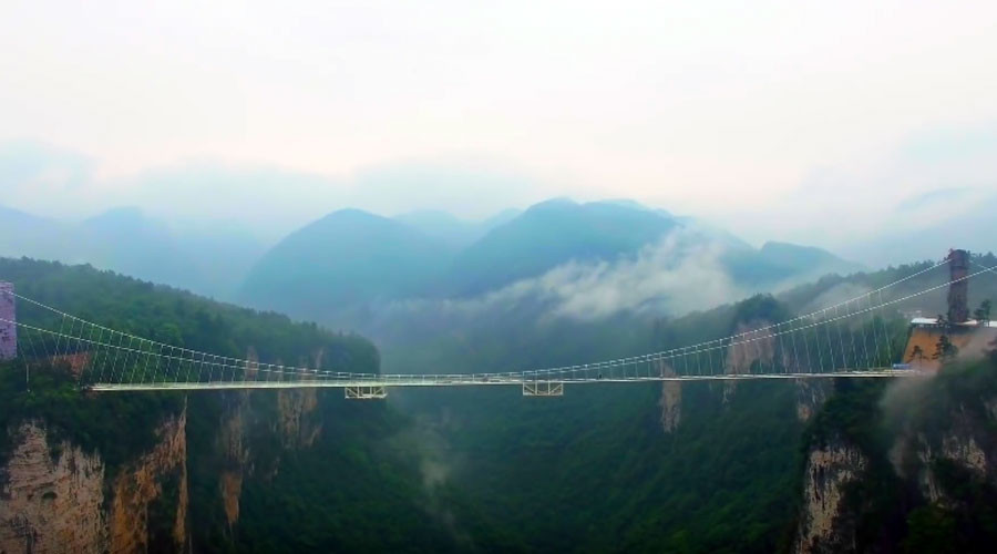 © Zhangjiajie Grand Canyon Official Channel