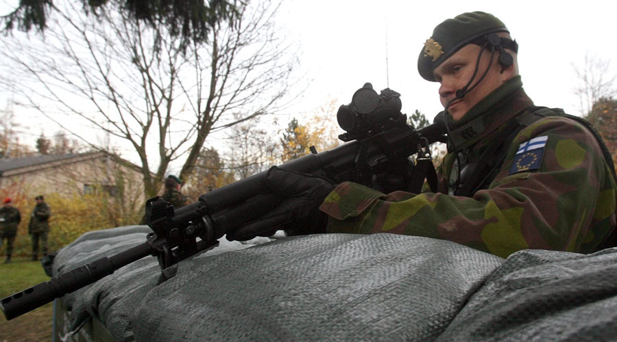 Finnish man flees 'invasion' in scare caused by unannounced military drill