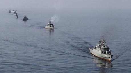 Iranian naval ships. ©Jamejamonline / Ebrahim Norouzi