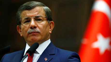 Turkey's Prime Minister Ahmet Davutoglu © Umit Bektas