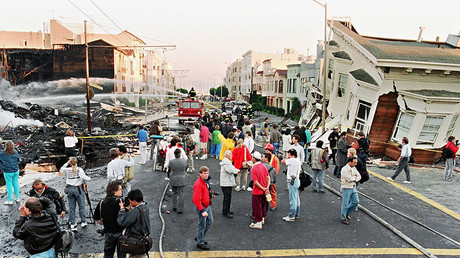 San Francisco after the 1989 earthquake, which caused up to $6 billion in damage. ©Jonathan Nourok