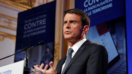 French Prime Minister Manuel Valls. © Philippe Wojazer