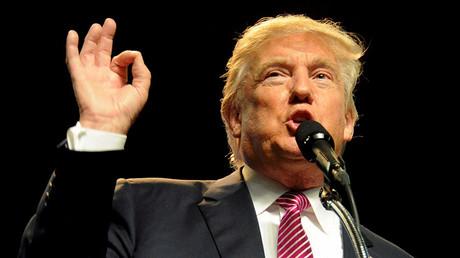 Republican U.S. presidential candidate Donald Trump. ©Chris Tilley