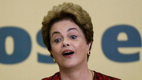 Brazil's President Dilma Rousseff. ©Ueslei Marcelino