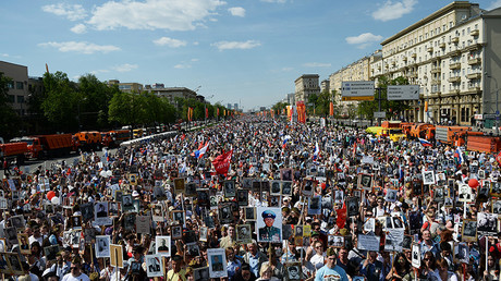 2mn-strong 'Immortal Regiment' marches across the globe to pay tribute to WWII heroes (MAP)