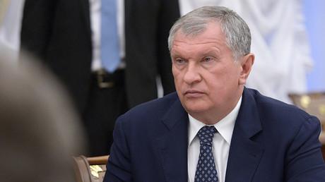 Igor Sechin, Rosneft Oil Company CEO. ©Aleksey Nikolskyi