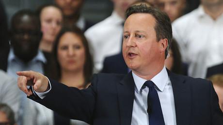 Britain's Prime Minister David Cameron. ©Christopher Furlong