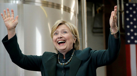 U.S. Democratic presidential candidate Hillary Clinton. © Jim Young