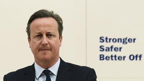 British Prime Minister David Cameron. ©Leon Neal