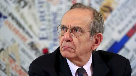 Italian Economy Minister Pier Carlo Padoan. ©Tony Gentile