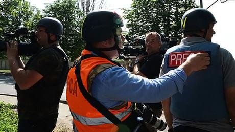 EU presses Kiev over fresh leak of journalists' data by Ukrainian witch-hunt website