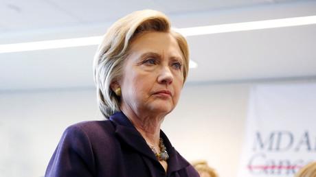 U.S. Democratic presidential candidate Hillary Clinton. © Dominick Reuter