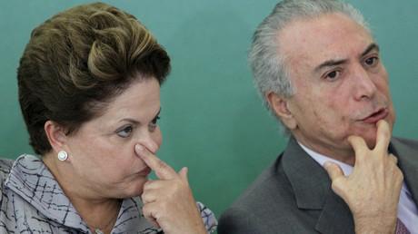 Dilma Rousseff and Michel Temer © Ueslei Marcelino