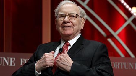 Warren Buffett, chairman and CEO of Berkshire Hathaway © Kevin Lamarque
