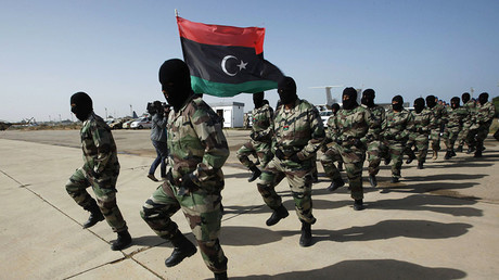 Libyan Army soldiers. © Ismail Zitouny
