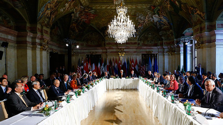 The ministerial meeting on Syria in Vienna, Austria, May 17, 2016 © Leonhard Foeger