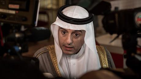 Saudi Foreign Minister Adel bin Ahmed Al-Jubeir. ©Philippe Lopez