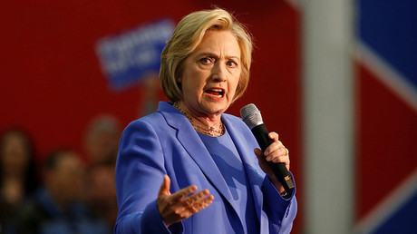 U.S. Democratic presidential candidate Hillary Clinton. ©Aaron P. Bernstein