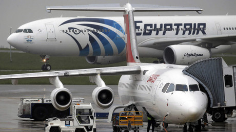 The EgyptAir plane © Christian Hartmann