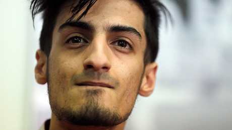 Mourad Laachraoui, Belgian Taekwondo athlete and brother of Najim Laachaoui, implicated in the Brussels bombing attacks © Christian Hartmann