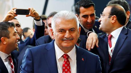 Turkey's Transportation Minister Binali Yildirim © Umit Bektas