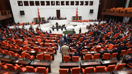Turkish parliament in Ankara © Adem Altan