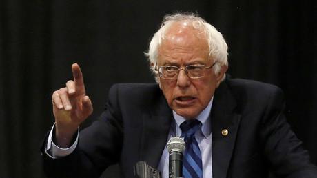 Democratic U.S. presidential candidate Bernie Sanders. ©Jim Urquhart
